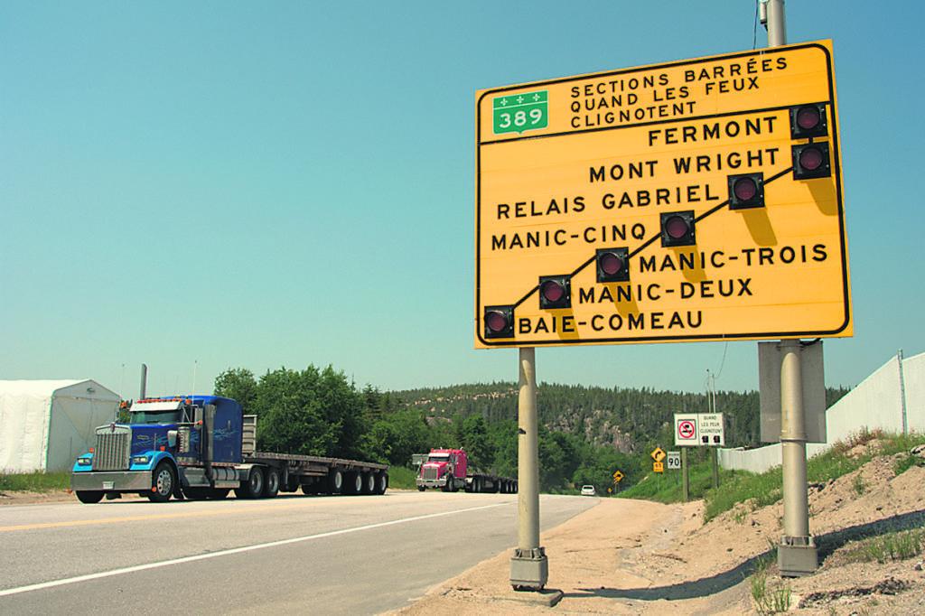 La 389 restera-t-elle au palmarès des pires routes en 2019?