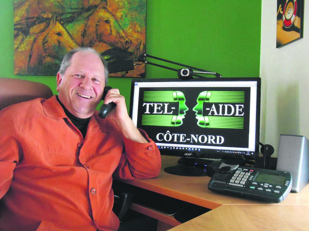 Le service d'écoute Tel-Aide arrive sur la Côte-Nord