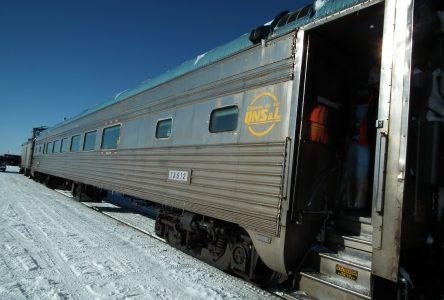 Déraillement de 14 wagons sur le chemin de fer QNS&L