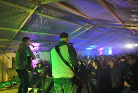 Le Festival des Hivernants attire des foules record