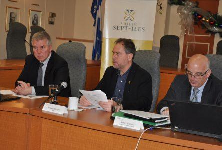 Budget de Sept-Îles: Hausse de 2% des taxes foncières