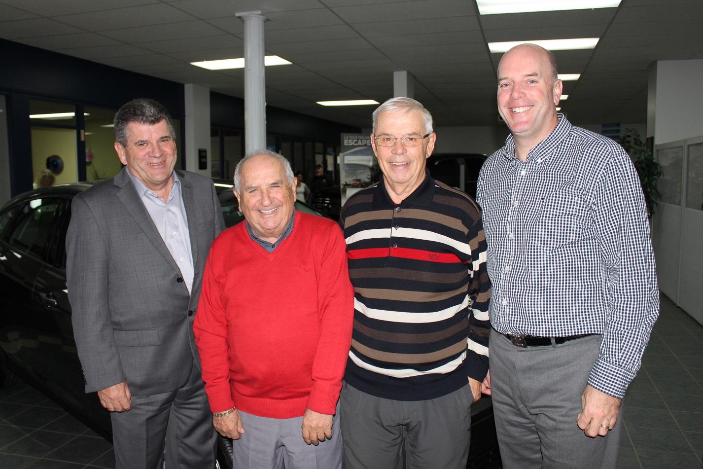 Automobile : Un Montréalais acquiert Ferro Ford