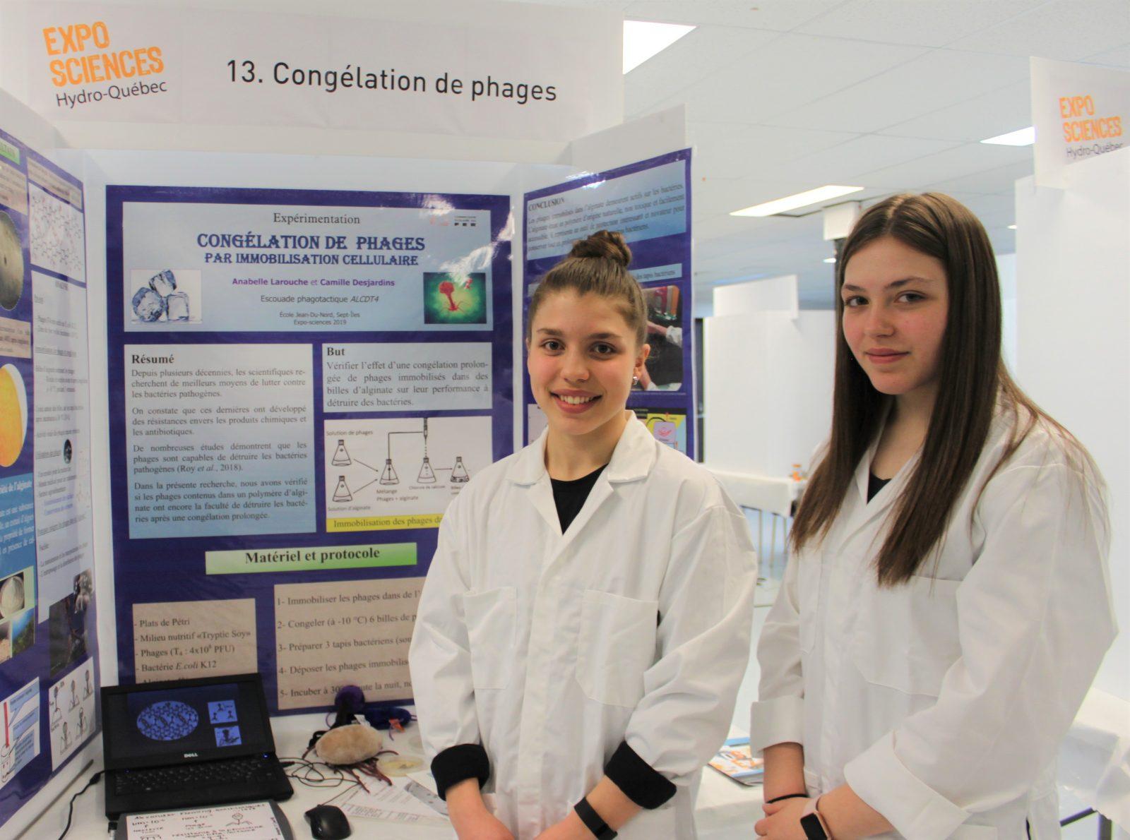La crème des jeunes scientifiques met le cap sur l'Expo-sciences