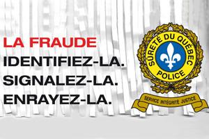 Le mois de la prévention de la fraude s'amorce