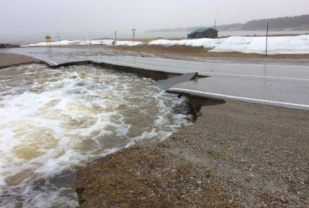 Inondations: Surveillance sur la Côte-Nord
