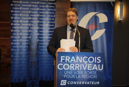 François Corriveau est le candidat conservateur dans Manicouagan