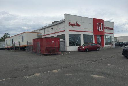 Investissements d'un demi-million $ chez Sept-Îles Honda