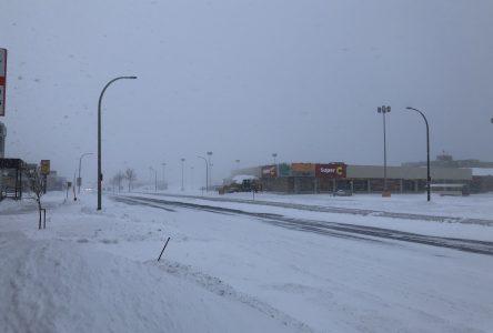 Route 138 et écoles fermées!