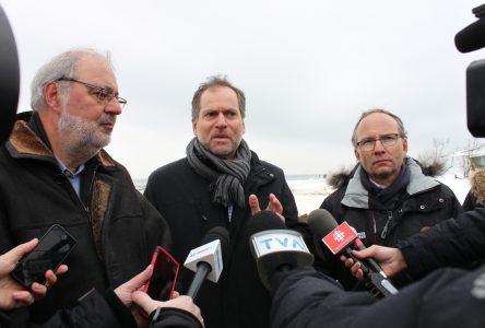 En «faire davantage» pour contrer l'érosion des berges, dit Québec