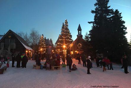 La magie fait son œuvre au Vieux-Poste de Noël