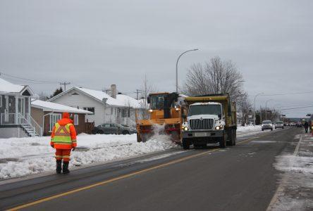 La Ville soufflera (encore) la neige sur les terrains résidentiels