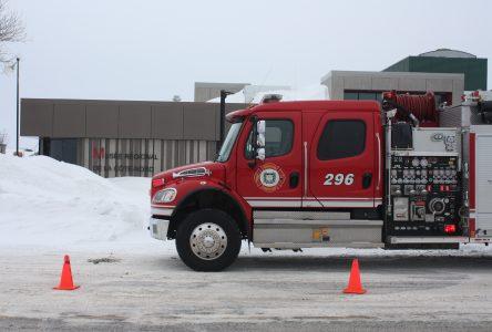 Les pompiers appelés à intervenir au Musée régional