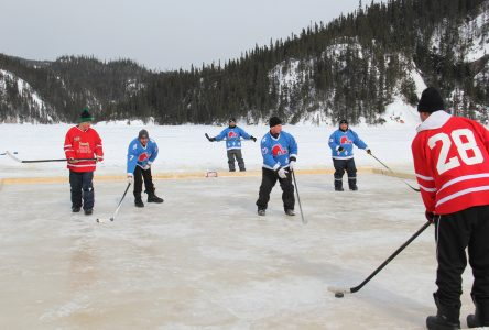 Une première édition réussie pour la Classique hivernal du lac Kachiwiss… sans patins