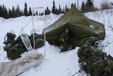 Exercice guerrier nordique : Les Forces armées canadiennes s'entrainent à Schefferville