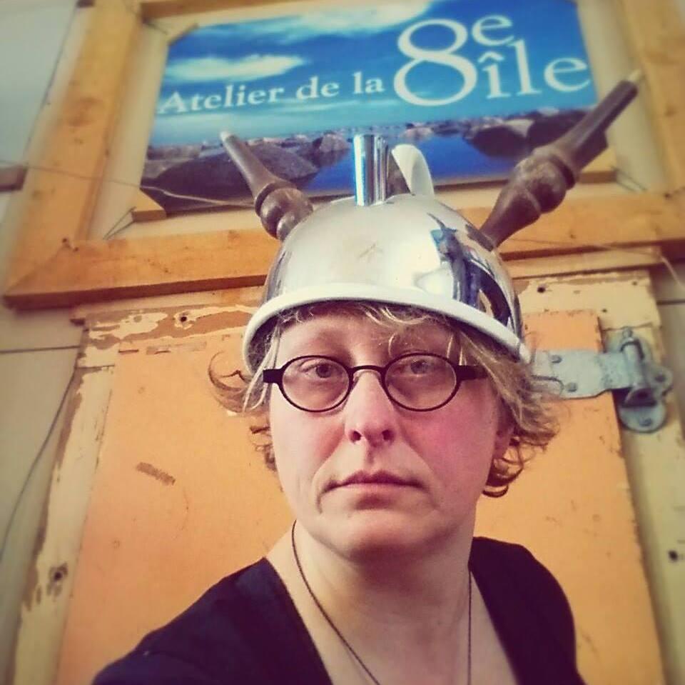 Atelier de la 8e île : le projet d'une vie pour Johanne Roussy