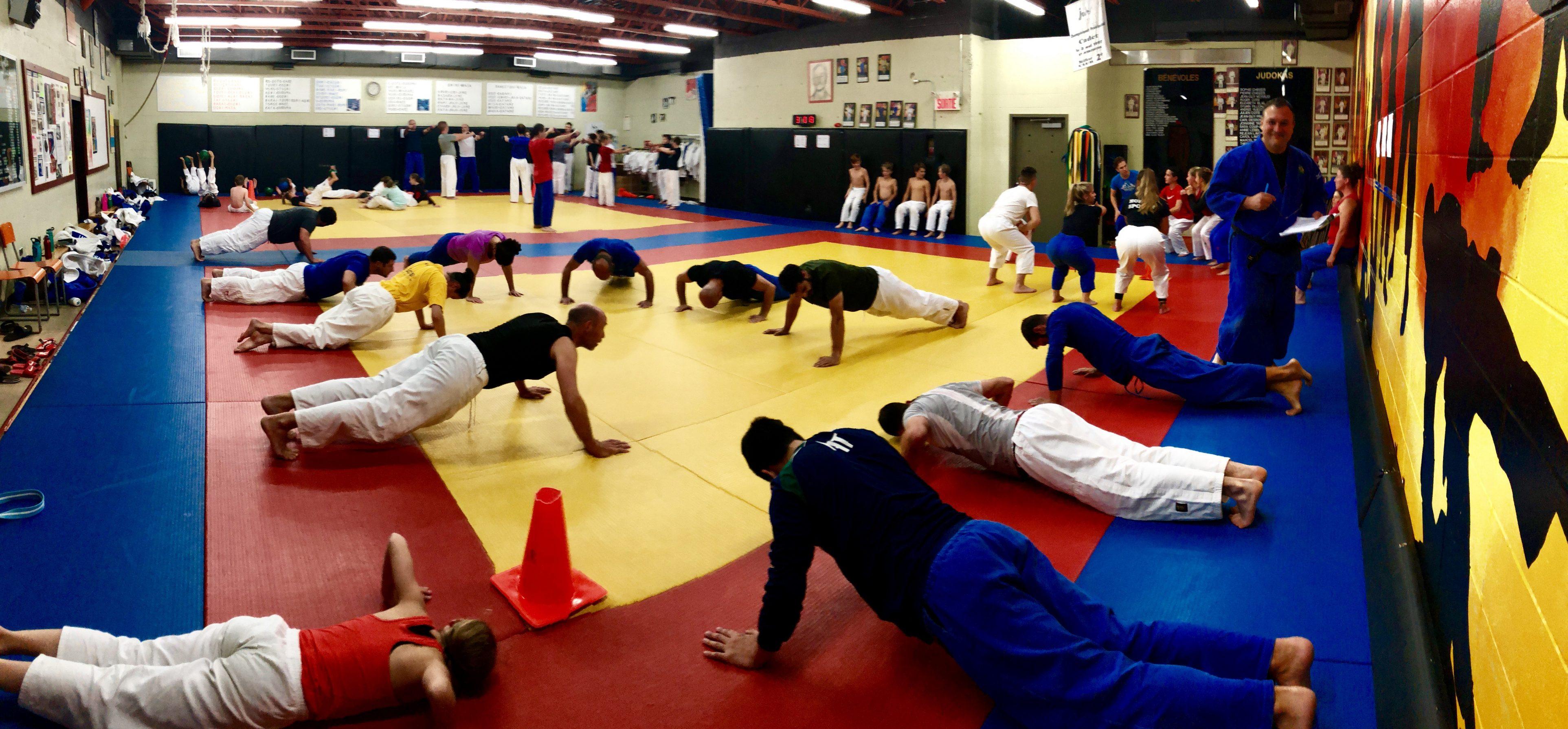 L'Académie de judo l'aura (enfin) son nouveau local