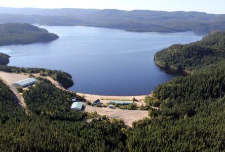 Lac des Rapides: Échantillonnage pour l'acidité