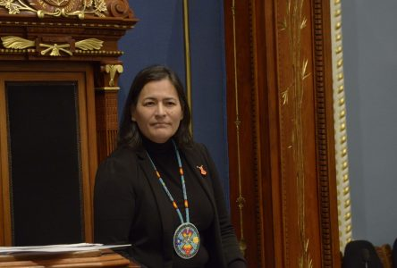 Michèle Audette lance le 69e Parlement jeunesse du Québec