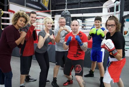 Le Club de boxe Le Lady Era en vedette à Unis TV