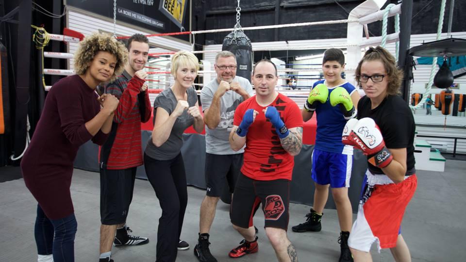 Le Club de boxe Le Lady Era en vedette à Unis TV