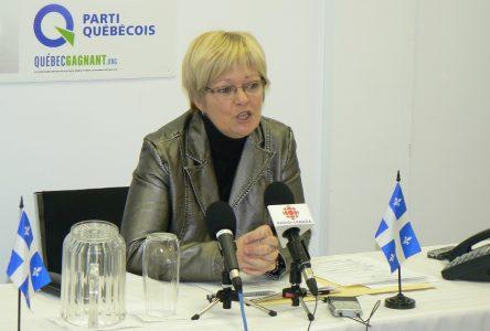Victime d'un malaise: Lorraine Richard au repos forcé