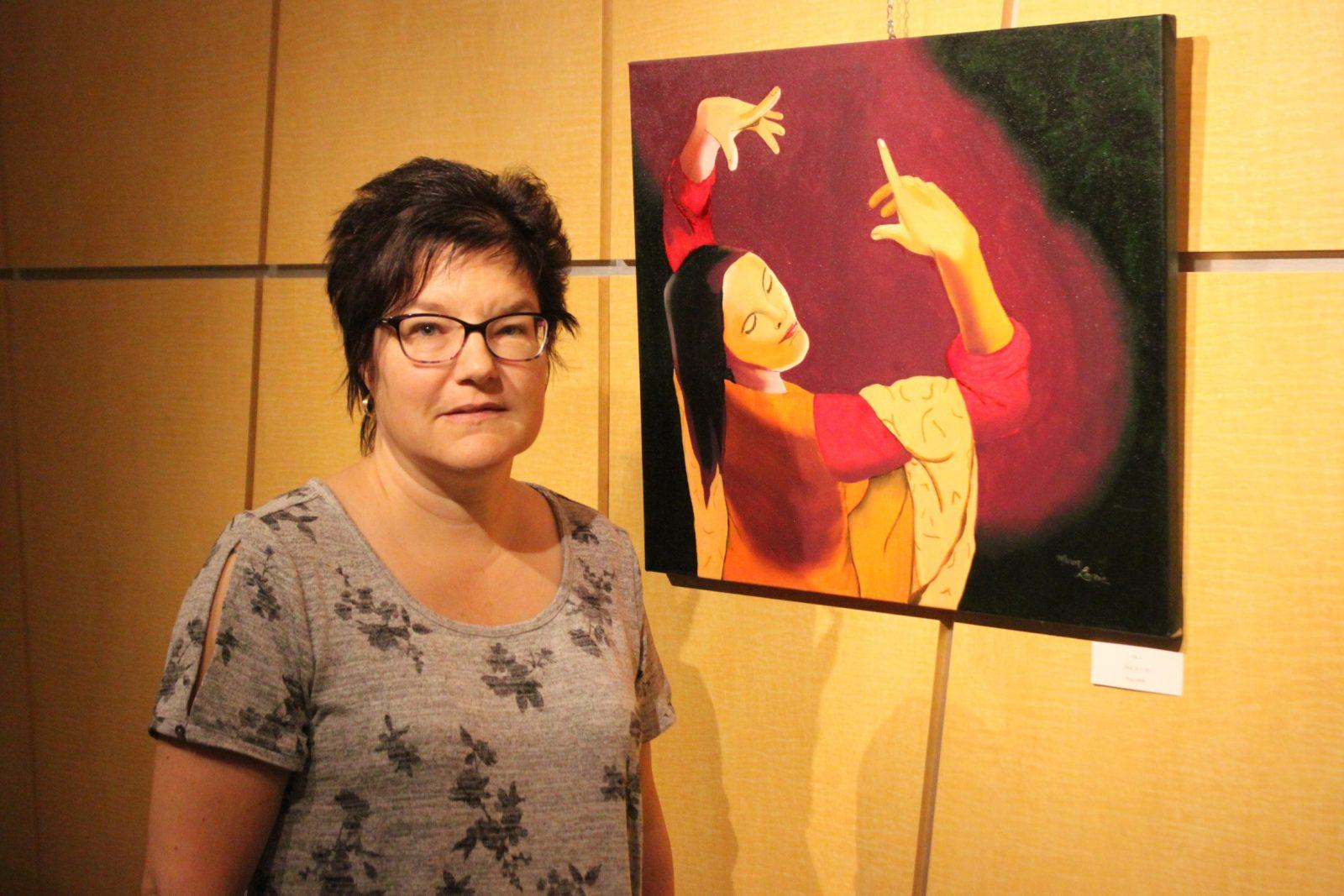 Manon Lavoie: Des œuvres colorées proposées