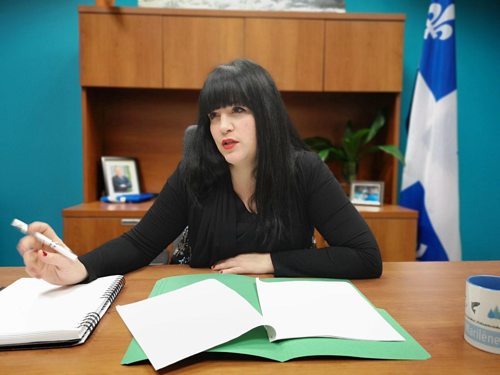 Marilène Gill fustige le budget Morneau