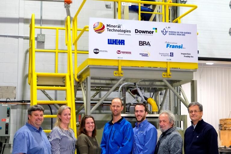 Minerai de fer Québec offre 125000 $ d'équipement au Cégep