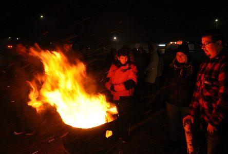 Nuit des sans-abri: près de 200 personnes démontrent leur solidarité