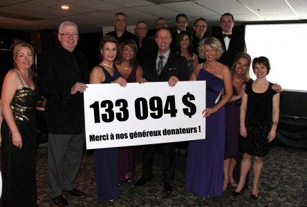 Souper-bénéfice: Le Club Optimiste récolte 133 094$