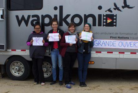 Wapikoni Mobile:En escale à Uashat mak Mani-Utenam