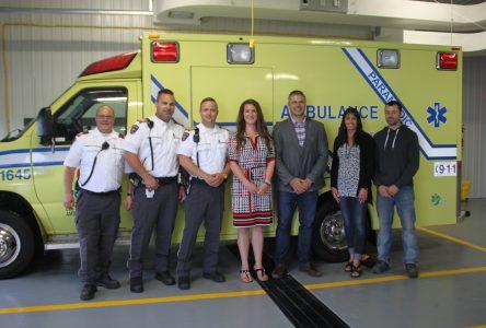 Services ambulanciers: Une nouvelle caserne inaugurée à Sept-Îles