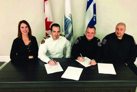 Les pompiers de Port-Cartier auront 6% d'augmentation salariale