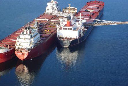Les débardeurs du port votent pour la grève