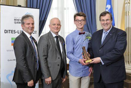 Prix Hommage bénévolat-Québec: Un jeune de Havre-Saint-Pierre récompensé