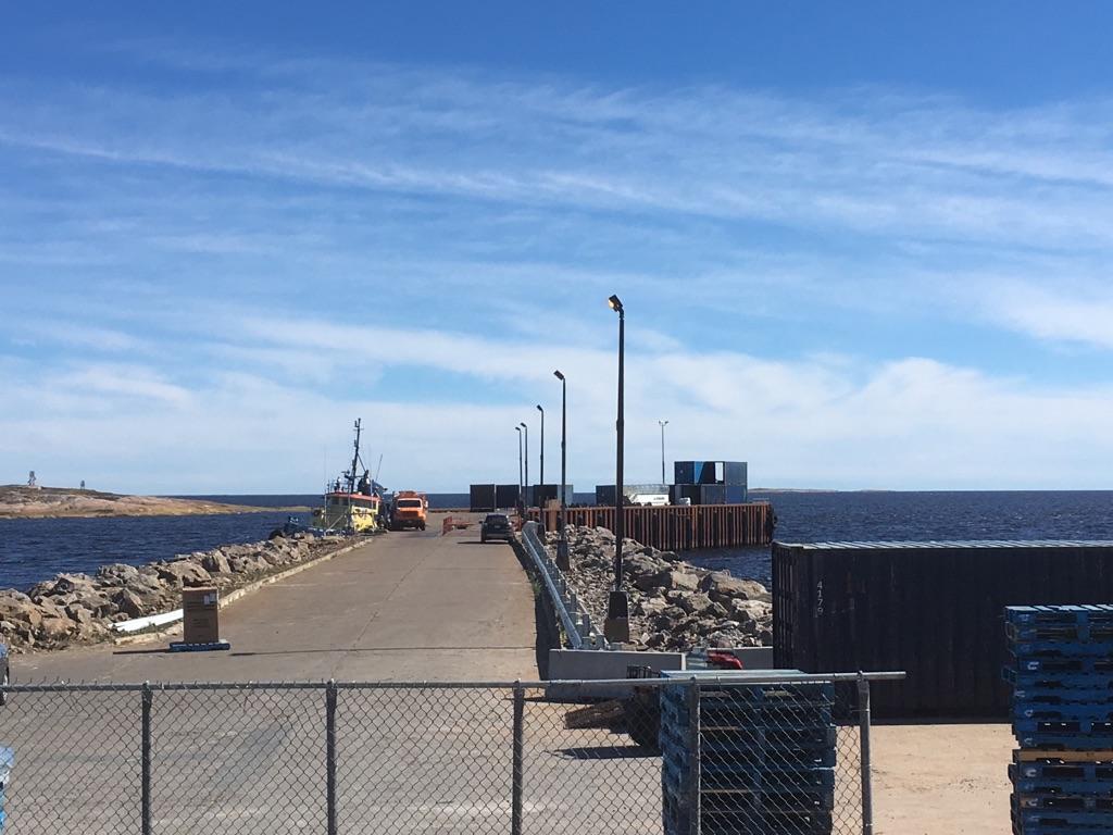 Quai de La Romaine: les MRC de la Côte-Nord exigent des informations de Transports Canada