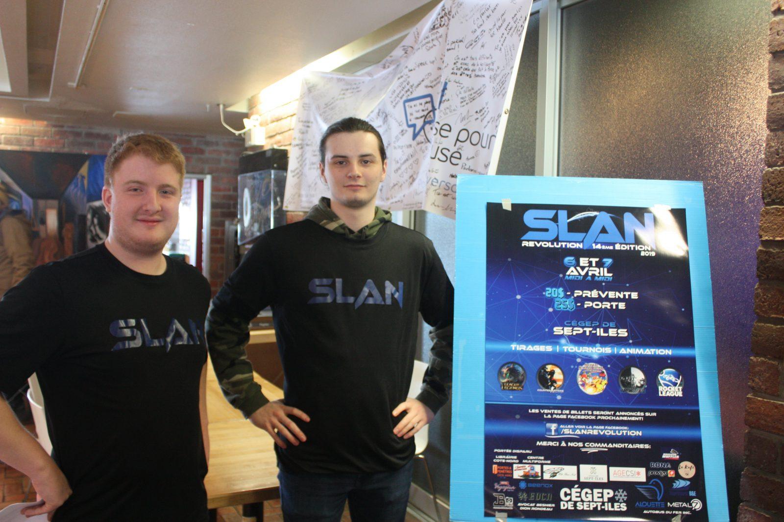 24h de jeu au SLAN Revolution