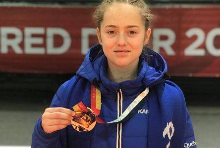 Sophie Lapointe reviendra des Jeux du Canada avec le bronze