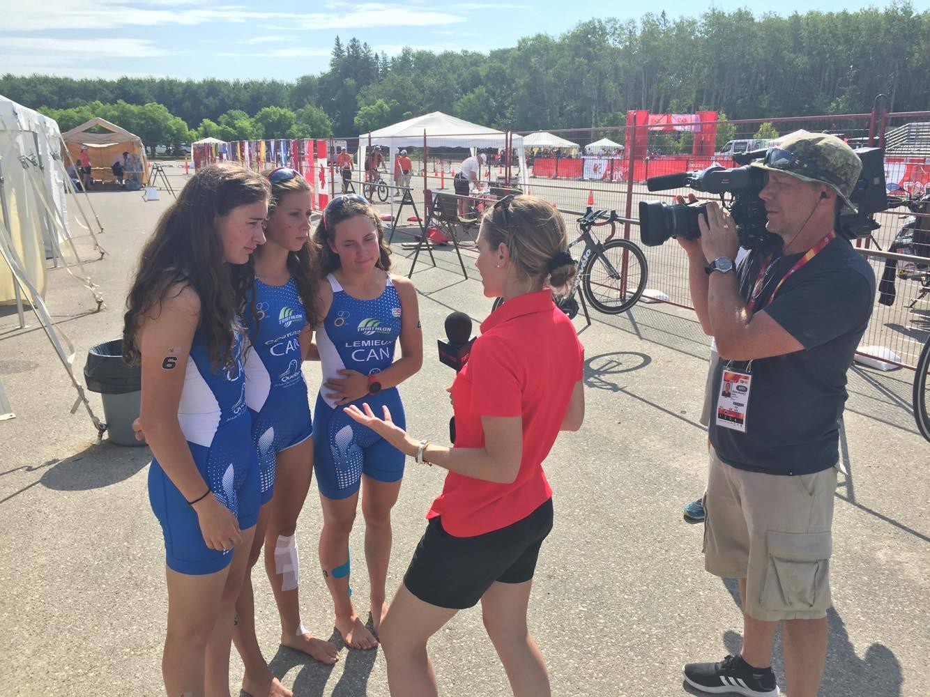 Jeux du Canada : Claudelle Dumas pourra se reprendre jeudi