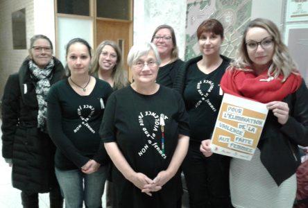 Solidaires contre la violence faite aux femmes