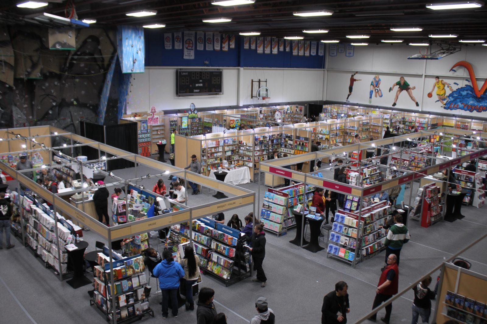Le Salon du livre de la Côte-Nord bat son plein