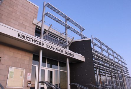 Sinistre majeur à la bibliothèque Louis-Ange-Santerre