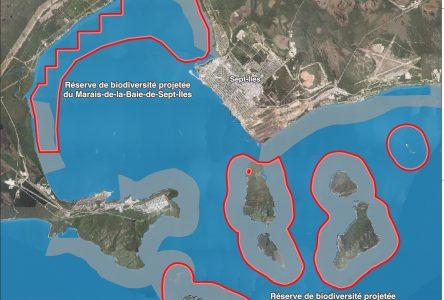 La réserve de biodiversité à Sept-Îles sera 100% marine, mais sans la protection des réserves aquatiques