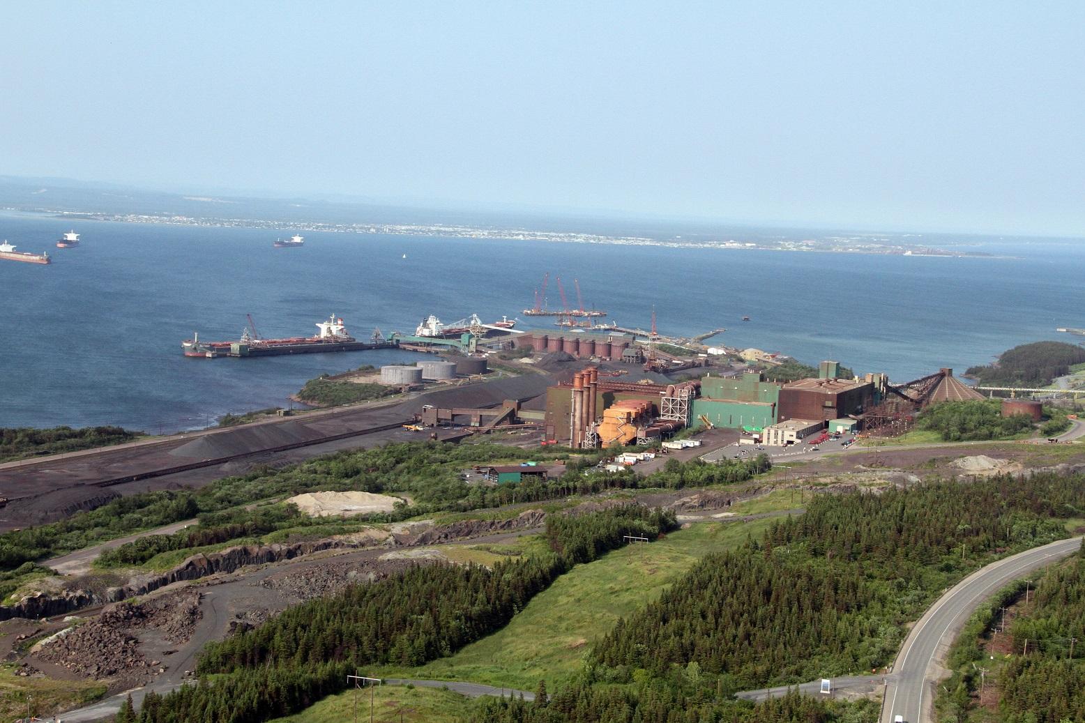 L'usine de bouletage de Pointe-Noire pourrait redémarrer dès l'automne