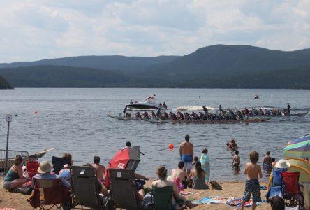 Les dragons envahissent le lac des Rapides!