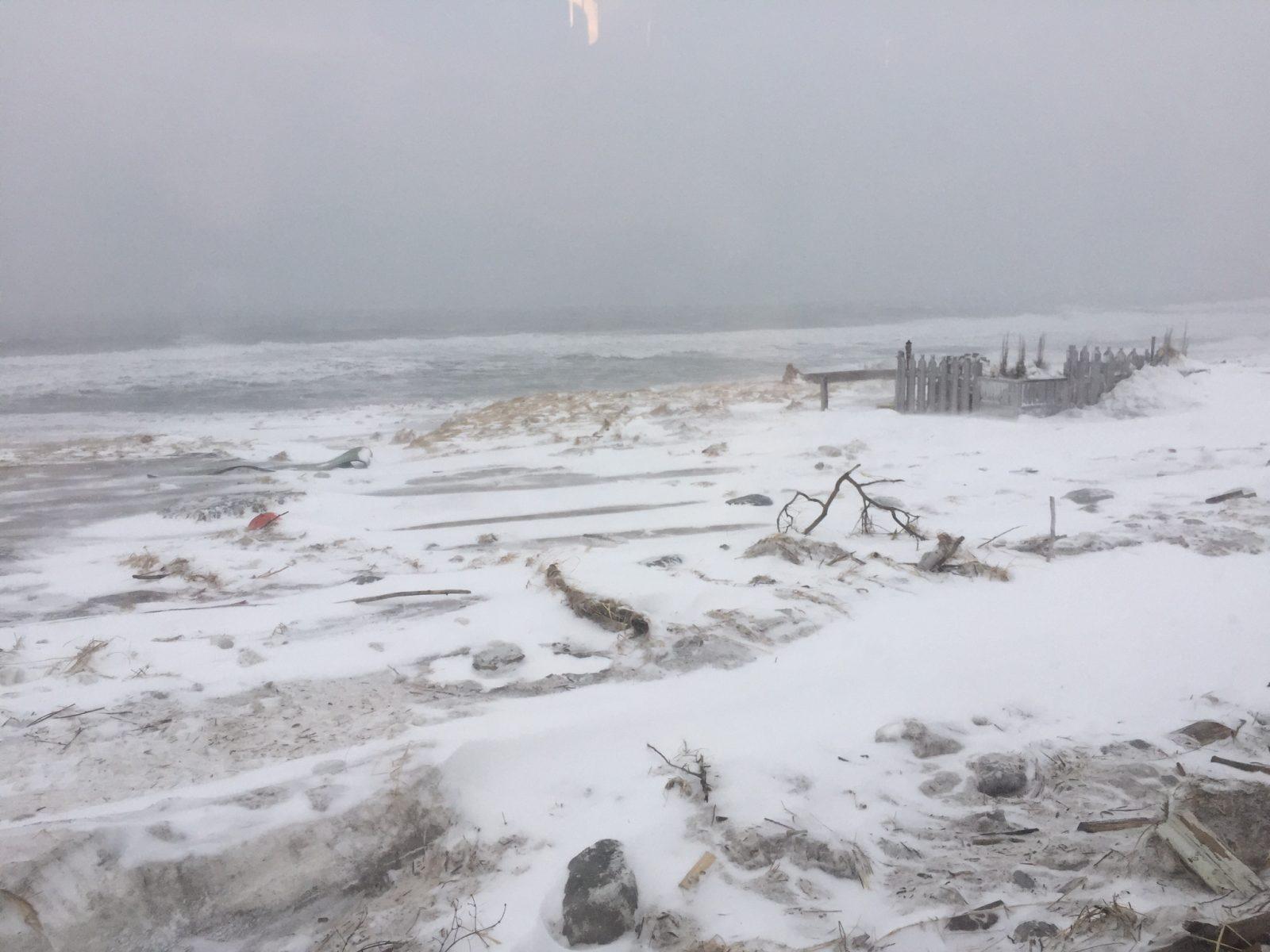 La météo a raison de la Minganie et de ses environs