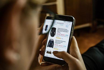 Les Nord-Côtiers sont les Québécois qui feraient le moins d'achats en ligne