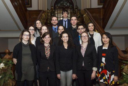 Parlement jeunesse du Québec: Sandrine Jouis enchantée de son expérience