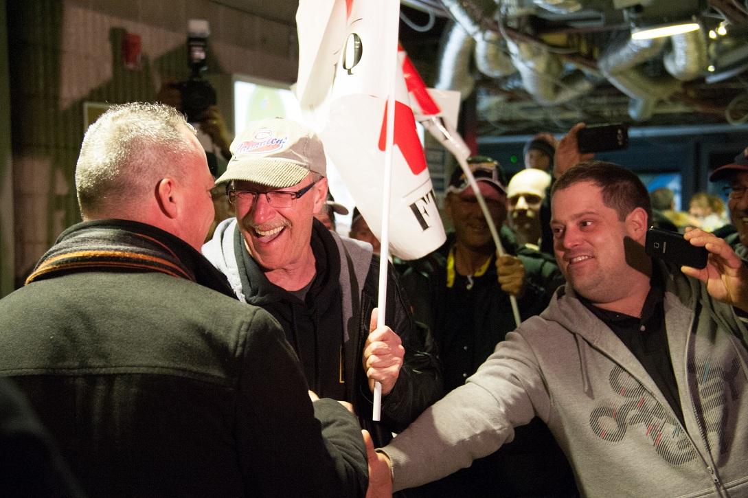 Bernard «Rambo» Gauthier accueilli en héros