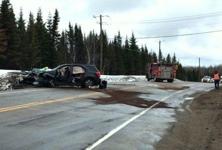 Accident mortel sur la 138 dans Charlevoix, un des conducteurs impliqués est de Sept-Îles